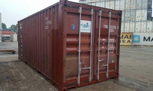 20ft dry van container