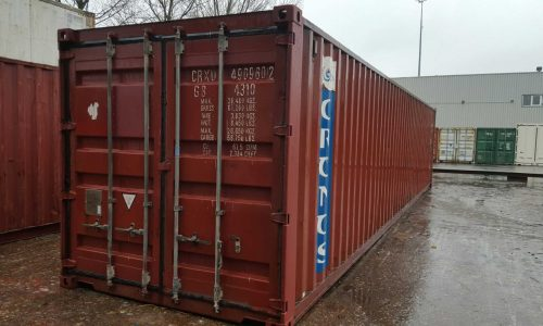 40ft dry van container