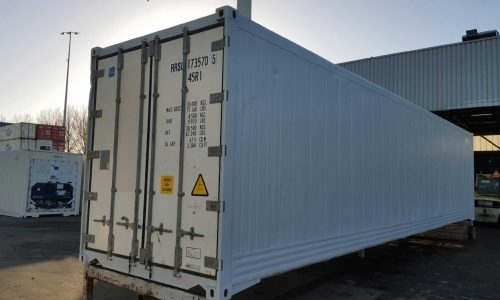 40ft high cube reefer