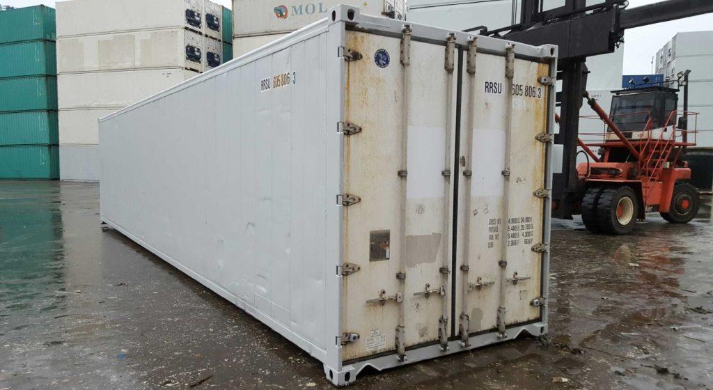 Betere 40ft geïsoleerde container huren of kopen ? - Containersales FK-64