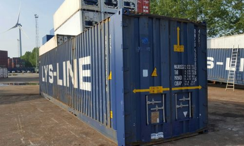 40ft pallet wide dry van container