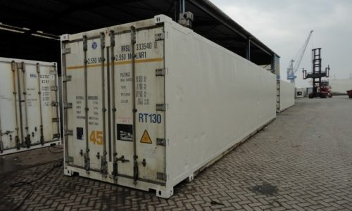 45ft high cube pallet wide reefer
