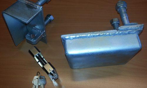 Lockbox +padlock complete assy