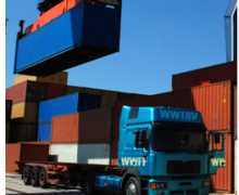 wegtransport belgie-containers