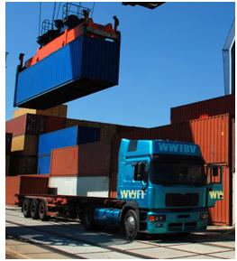 wegtransport belgie-containers