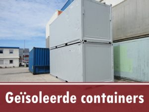 45ft geïsoleerde container