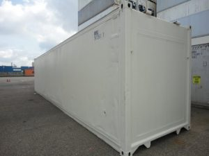 40ft geïsoleerde container