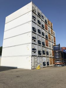 Containers in Rotterdam